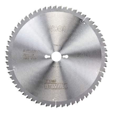 Диск по дереву для дисковых пил DeWALT DT4260-QZ