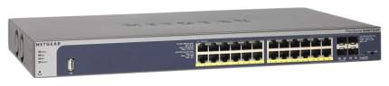 Коммутатор NetGear GSM7224P-100NES Синий