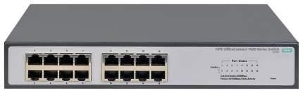 Коммутатор HP 1420-16G JH016A Черный