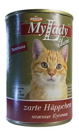 Консервы для кошек Dr. Alder's My Lady Classic, с телятиной в соусе, 24шт по 415г