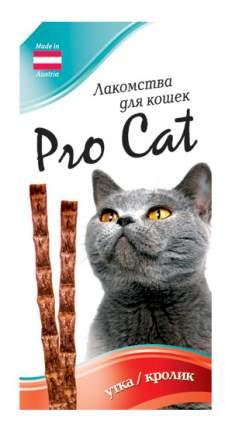 Лакомые палочки для кошек PRO CAT с уткой и кроликом 13,5см, 15г