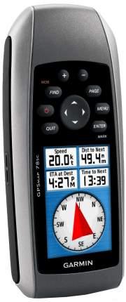 Туристический навигатор Garmin GPSMap 78S Rus черный