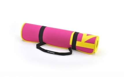 Коврик для фитнеса Reebok RAMT-11024MG желто-розовый 6 мм