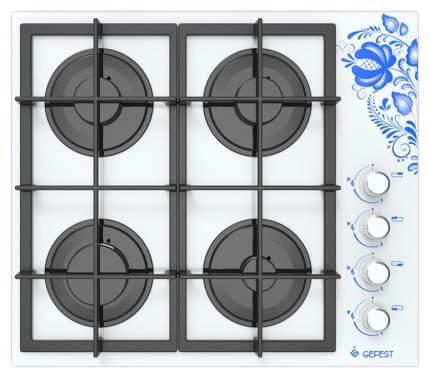 Встраиваемая варочная панель газовая GEFEST СГ СВН 2230 К18 White