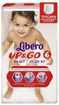 Подгузники Libero Up&Go XL 6 (13-20 кг), 44 шт.