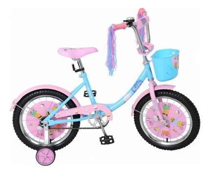 Велосипед Navigator 2017 Peppa Pig голубой, розовый ВН16100К