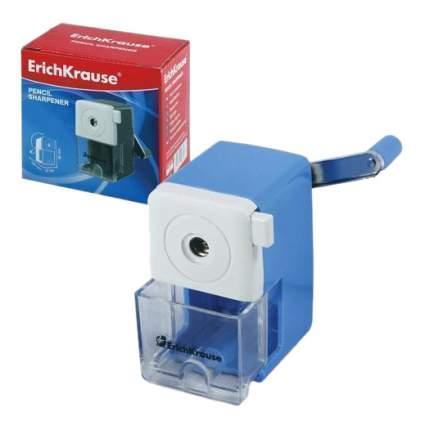 Точилка механическая ErichKrause® с контейнером, цвет корпуса ассорти (в коробке по 1 шт.)