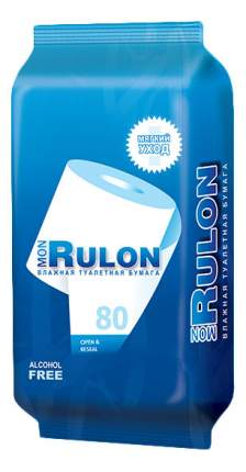 Туалетная бумага Mon rulon влажная 80 шт.
