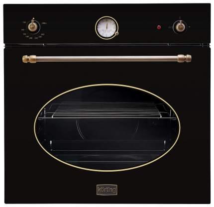 Встраиваемый газовый духовой шкаф Korting OGG 742 CRSN Black