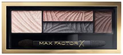 Тени для век и бровей 2 в 1 MAX FACTOR Smokey Eye Drama, тон 02 lavish onyx