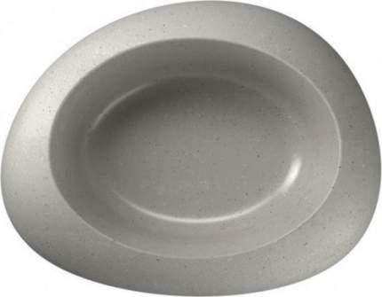 Одинарная миска для собак IMAC, пластик, серый, 0.3 л