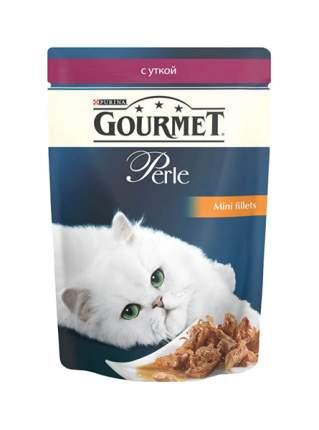 Корм для кошек Gourmet Perle, утка, 1шт, 85г