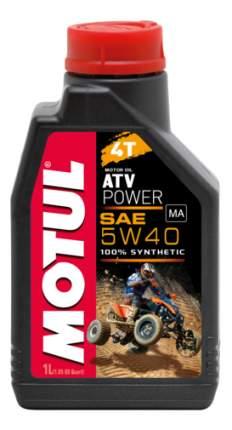 Моторное масло Motul ATV Power 4T 5W-40 1л
