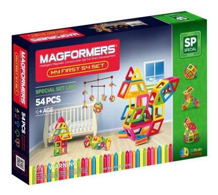 Конструктор магнитный Magformers My First 54