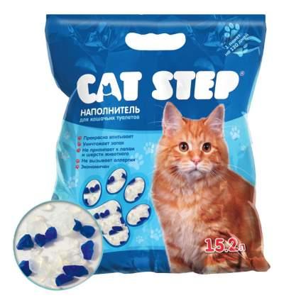 Наполнитель Cat Step силикагелевый 15,2 л