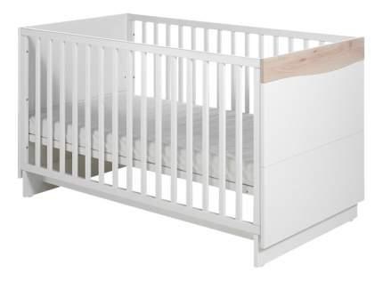 """Детская кровать Geuther """"Wave"""" белая/бук"""