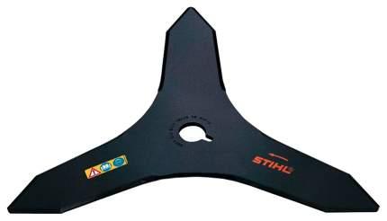 STIHL Нож 3z 250 мм FS-80,85,120 для жест, поросли (41127134100)