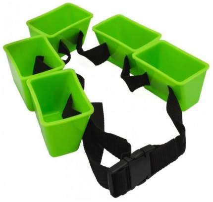 Тормозной пояс для плавания StrechCordz Break Belt зеленый