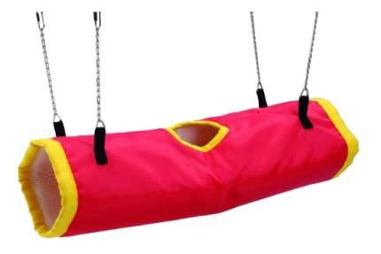 Тоннель для грызунов Beeztees нейлон, 22х50 см, цвет красный