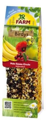 JR Farm Палочки с Маком и Бананом для волнистых попугаев, 1шт,