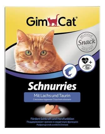 Лакомство для кошек Gimcat Сердечки с лососем и таурином, 40г