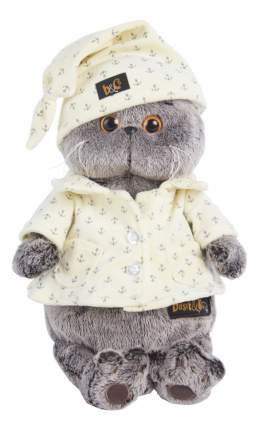 Мягкая игрушка BUDI BASA Ks22-024 Басик в пижаме 22 см