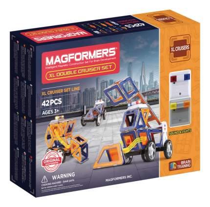 Конструктор магнитный Magformers XL Double Cruiser Set 42