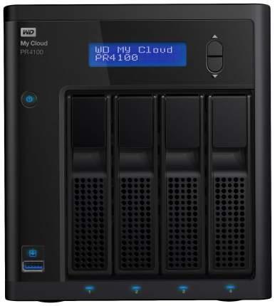 Сетевое хранилище данных Western Digital My Cloud Pro PR4100 WDBKWB0080KBK-EEUE