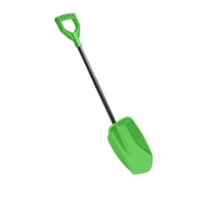 Лопата для снега Little Angel с черенком, цв. зелёный, 85 см