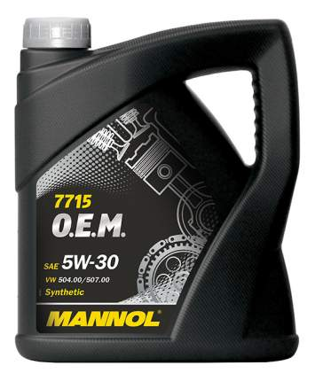 Моторное масло Mannol 7715 O.E.M. 5W-30 5л
