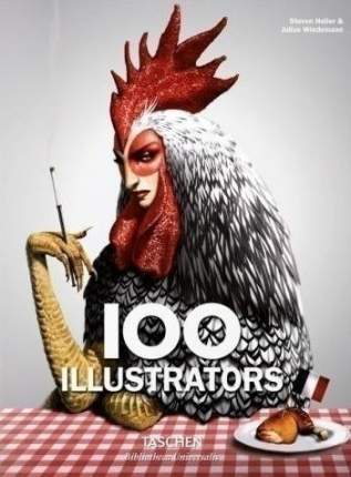 Книга 100 Illustrators