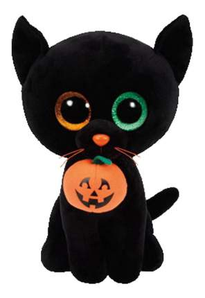 Мягкая игрушка TY Beanie Boos Кошка Shadow черная 33 см