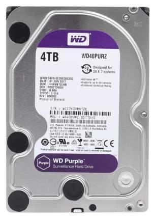Внутренний жесткий диск Western Digital Purple 4TB (WD40PURZ)