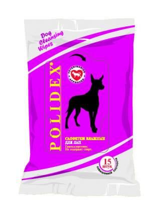 Салфетки для чистки лап Polidex 0520
