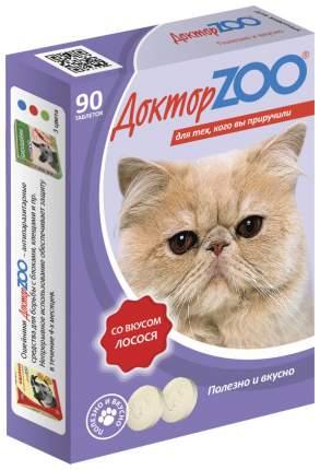 Витаминный комплекс для кошек Доктор ZOO Для кошек,со вкусом Лосося 90 таб
