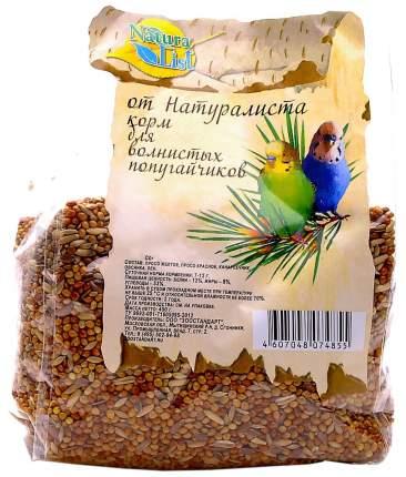 Основной корм Naturalist для волнистых попугаев 450 г, 1 шт