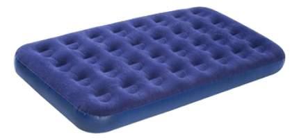 Надувная кровать Relax Flocked air bed TWIN без встр, Насоса 20334