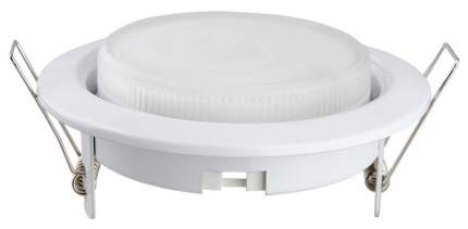 Встраиваемый светильник Camelion FM1-GX53-W белый