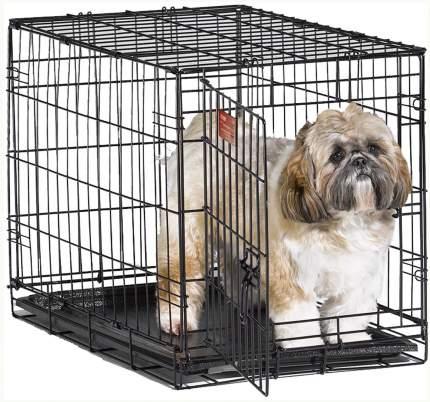 Клетка для собак Midwest iCrate, размер 1, 5.8 кг, размер 61х46х48см., черный