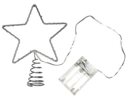 Верхушка для ели Snowhouse Звезда 15 см холодная белая