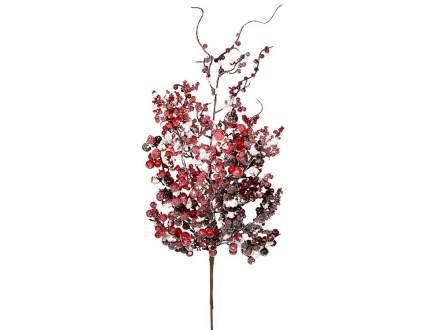 Ветка Красные ягоды в снегу 53 см 83042