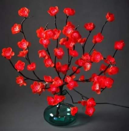 """Kaemingk Букет """"Гранатовый цвет"""", 50 см, 60 красных ламп 482244"""