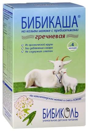 Молочная каша БИБИКОЛЬ БИБИКАША Гречневая на козьем молоке с 4 мес 200 г