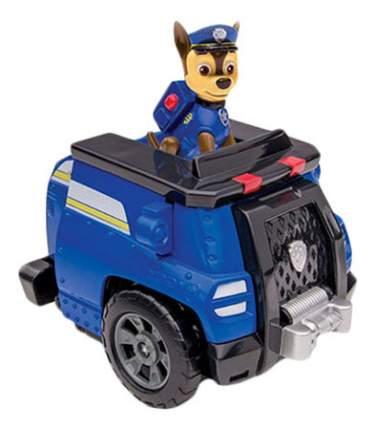 Игровой набор Щенячий патруль PAW Patrol Машина-трансформер со звуком и светом синяя