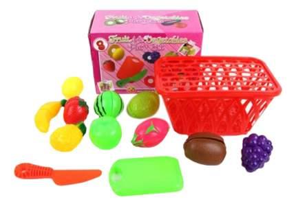 Набор фруктов игрушечный Shantou Gepai Корзинка с фруктами K16
