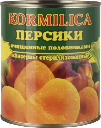 Персики Кормилица очищенные половинками 850 мл