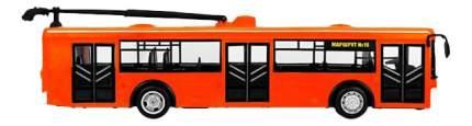 Троллейбус инерционный автопарк оранжевый 1:43 Play Smart В81761