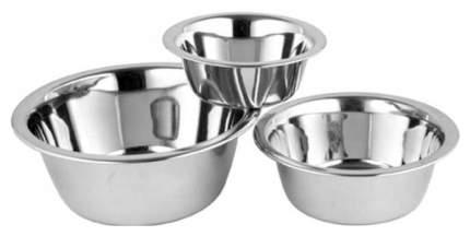 Одинарная миска для собак Ankur, сталь, серебристый, 0.45 л