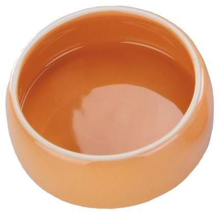 Одинарная миска для грызунов Nobby, керамика, оранжевый, 0.125 л