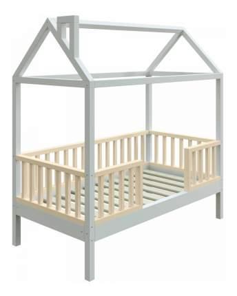 Кровать-домик Трурум KidS Сказка узкий бортик сливочно-белая